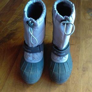 Columbia Kids Lavender Snow Boots
